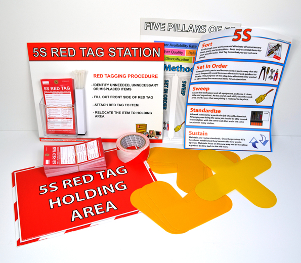 The All Industry 5s Starter Kit Sku 11624 The Lean Centre
