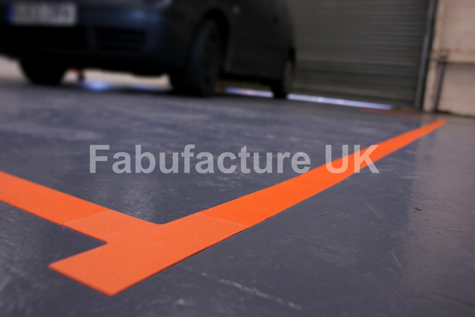 Heavy Duty Aisle Floor Marking Tape Sku 7361 The Lean