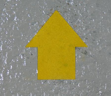 Permastripe Marker Arrow