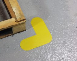 L shaped Pallet Marker