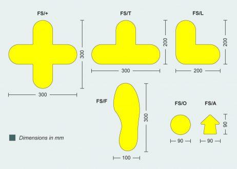 Floor signals - Pallet markers