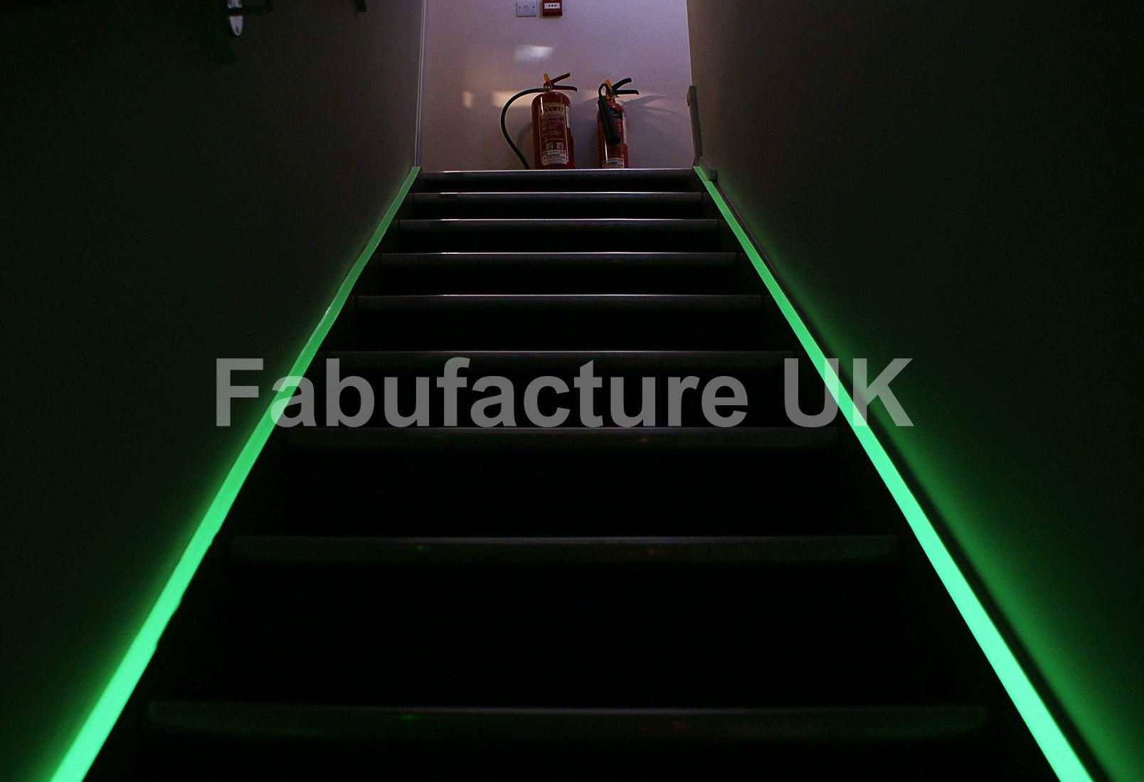 Glow In The Dark Photoluminescent Egress Tape 10m Sku