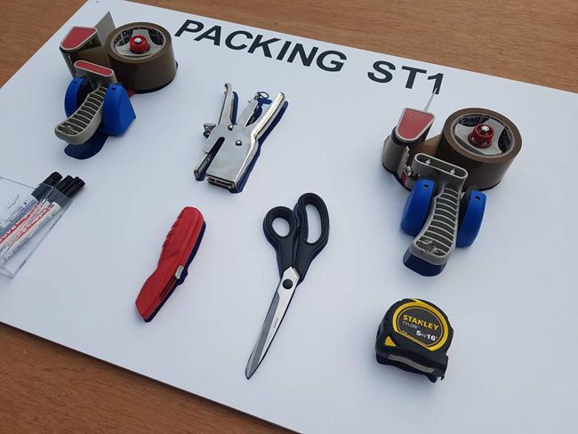 Tool Storage Shadow Boards Build A Board Kits Sku 5960